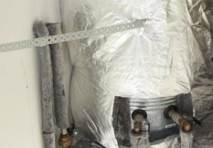 Cylidner Wrapping around a hot water heater