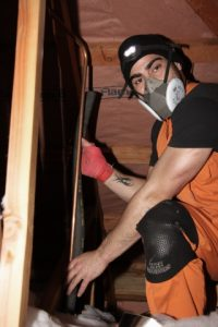 Awarua Synergy working on pipes in a house